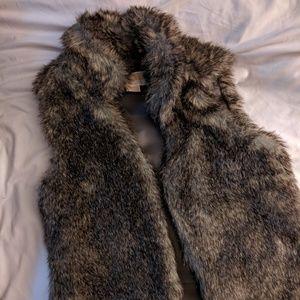 Michael Kors Faux Fur Vest! Like new!